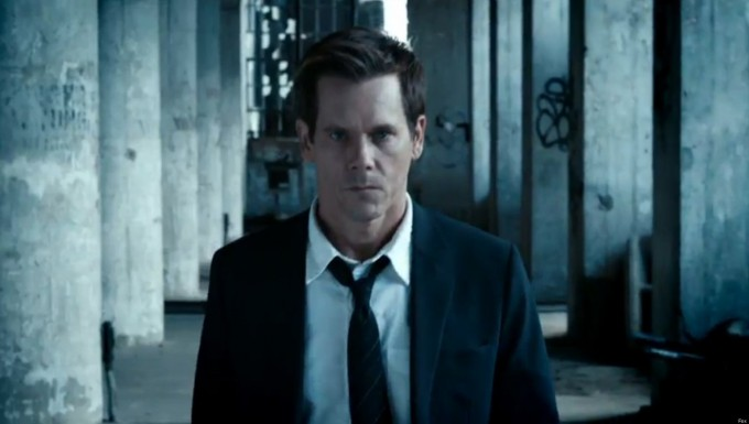 Kevin Bacon in The Following. Foto Fox